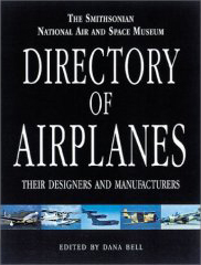 Book cover, Directory of Airplanes