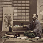 [One of Beato's colorists], [1860 - ca. 1900]. [graphic].