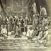 H.H The Maharajah of Bhurtpoor [photograph]